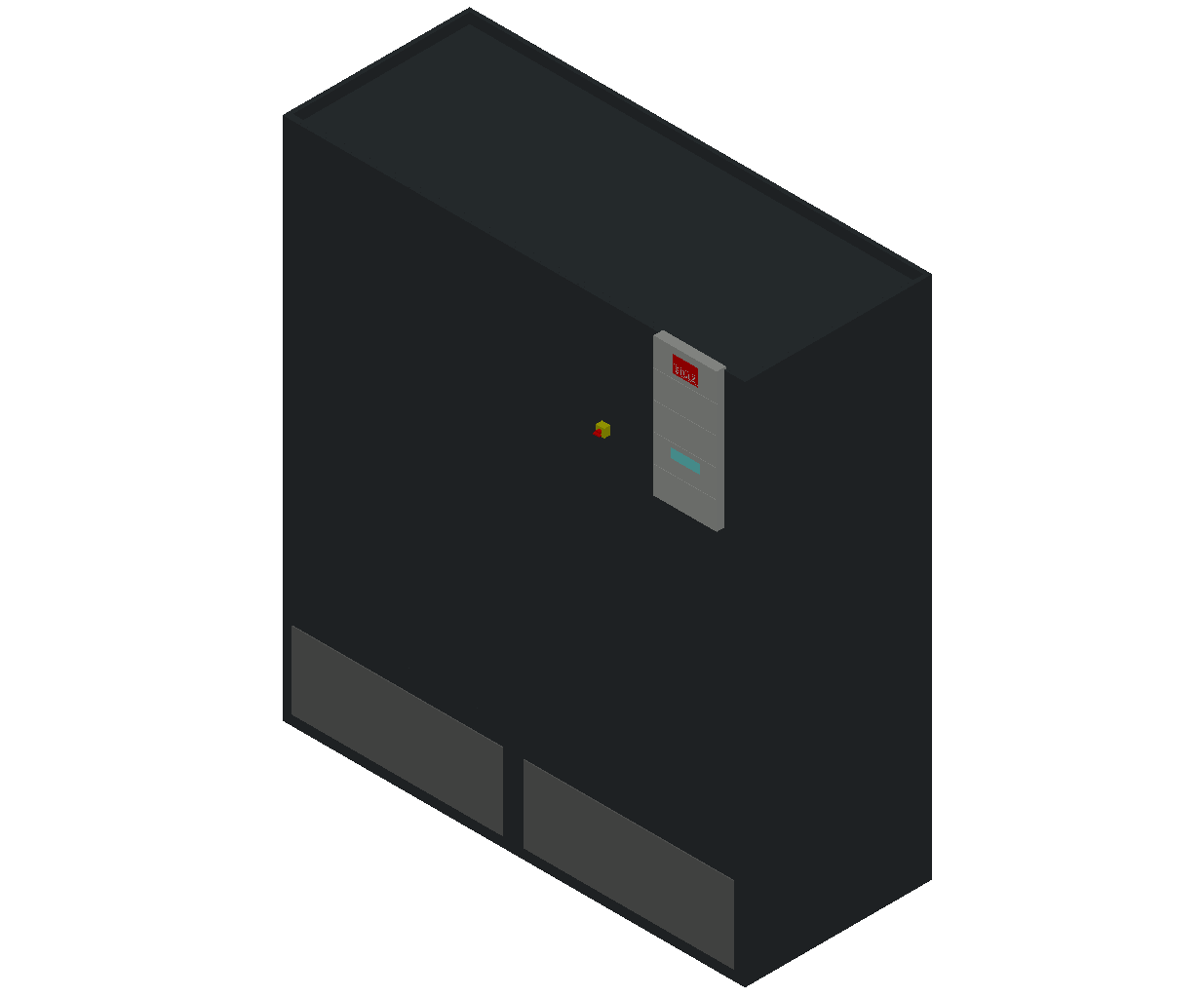 HC_Air Conditioner_Indoor Unit_MEPcontent_STULZ_CyberAir 3PRO_ASR_Dual Circuit A_ASR_892_A_INT-EN.dwg