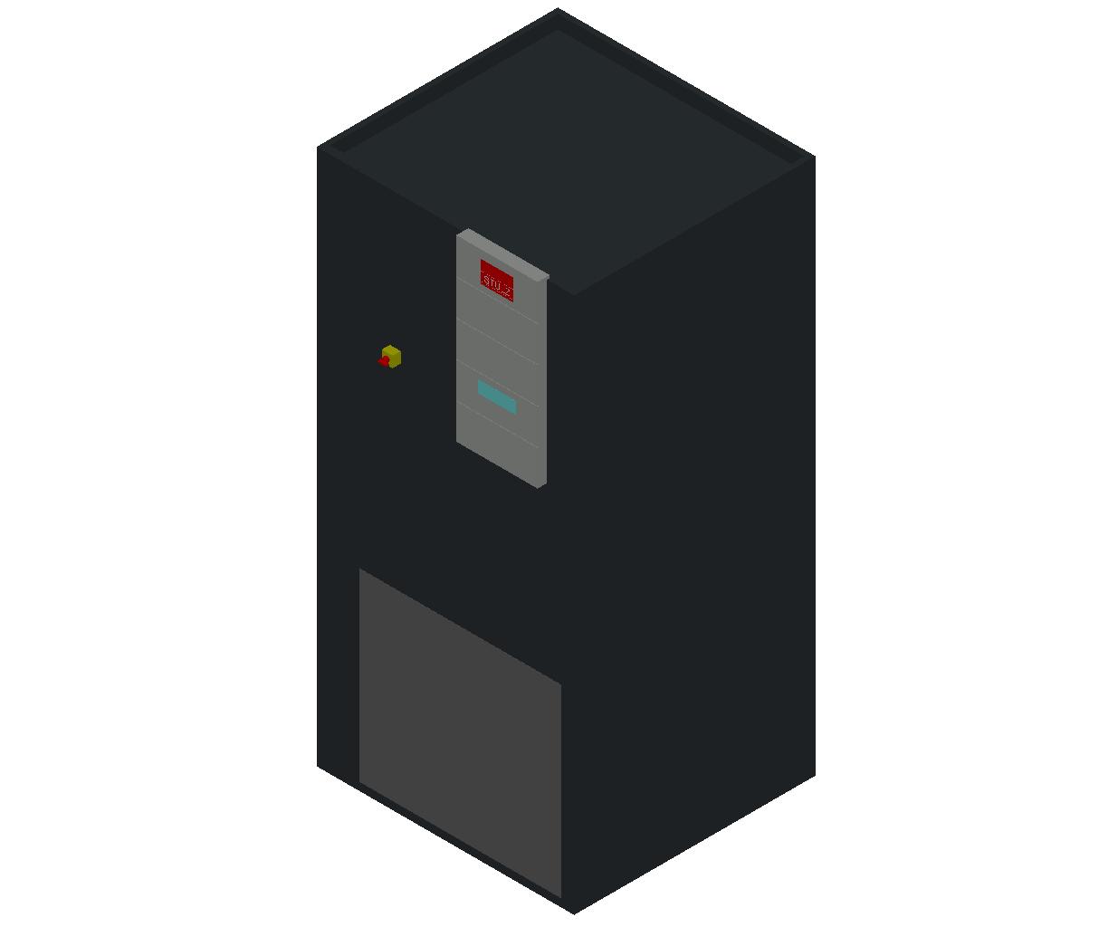 HC_Air Conditioner_Indoor Unit_MEPcontent_STULZ_CyberAir 3PRO_ASU_Single Circuit AS_ASU_261_AS_INT-EN.dwg