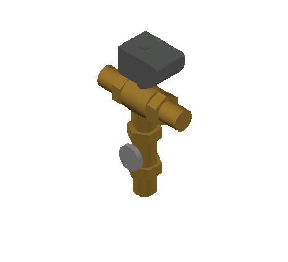 SA_Electronic_mixing_valve-MEPContent_CALEFFI-6000A-DN20-DN50_1.15 inch. press_US-EN.dwg