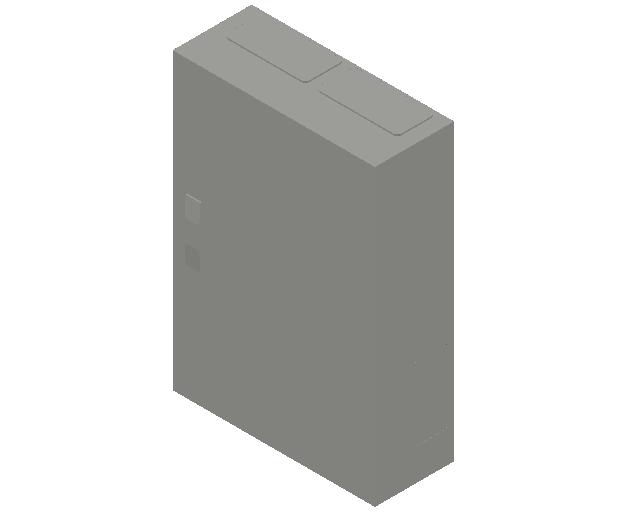 E_Distribution Panel_MEPcontent_ABB_ComfortLine B-Cabinets_5 Rows_B25 - IP44 120 modules 800x550x215_INT-EN.dwg