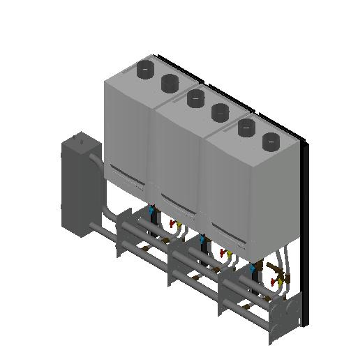 HC_Boiler_MEPcontent_De Dietrich_Innovens PRO MCA 160 Cascade_Freestanding 3_350-456 kW_INT-EN.dwg