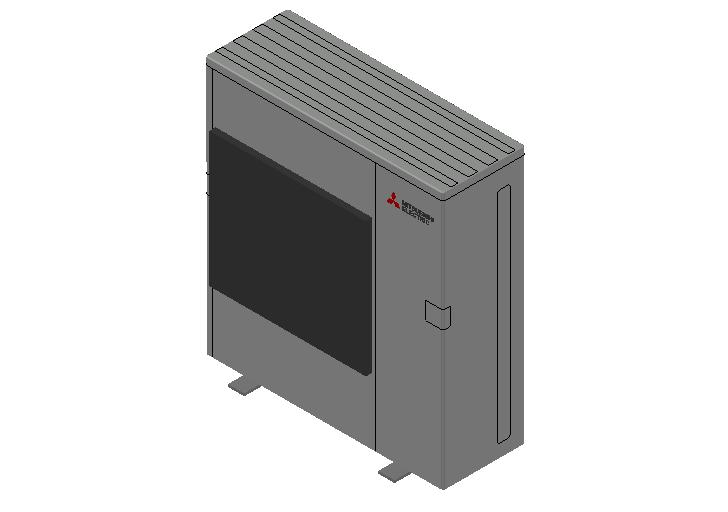 HC_Heat Pump_MEPcontent_Mitsubishi Electric Corporation_MXZ-6F122VF-E1_INT-EN.dwg
