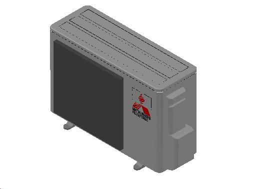 HC_Heat Pump_MEPcontent_Mitsubishi Electric Corporation_MUZ-EF35VEH_INT-EN.dwg