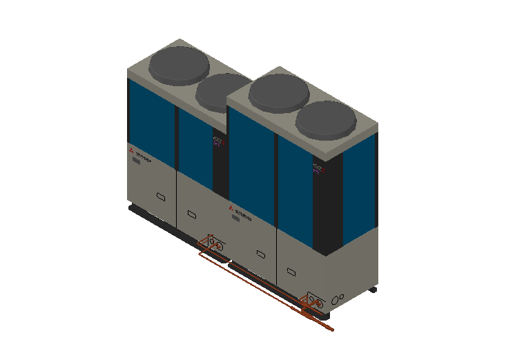 HC_Heat Pump_MEPcontent_Mitsubishi Heavy Industries_VRF_FDC735KXZE2_INT-EN.dwg