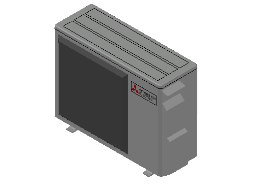 HC_Heat Pump_MEPcontent_Mitsubishi Electric Corporation_MUZ-HR25VF_INT-EN.dwg