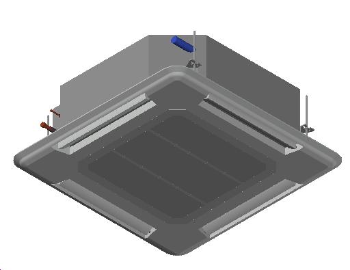 HC_Air Conditioner_Indoor Unit_MEPcontent_Mitsubishi Electric Corporation_PLA-RP60BA_Standard Inverter_1 Phase_INT-EN.dwg