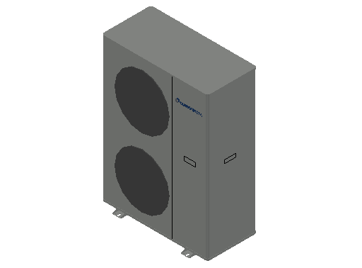 HC_Heat Pump_MEPcontent_Climaveneta_i-BX-N-(Y) 010 1 Phase_INT-EN.dwg