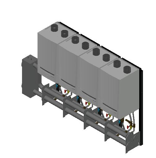 HC_Boiler_MEPcontent_De Dietrich_Innovens PRO MCA 160 Cascade_Freestanding 4_608 kW_INT-EN.dwg
