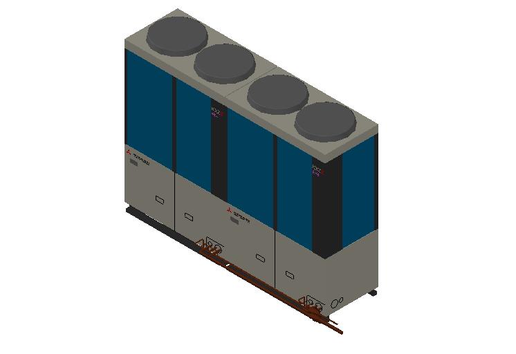 HC_Heat Pump_MEPcontent_Mitsubishi Heavy Industries_VRF_FDC800KXZRE2_INT-EN.dwg