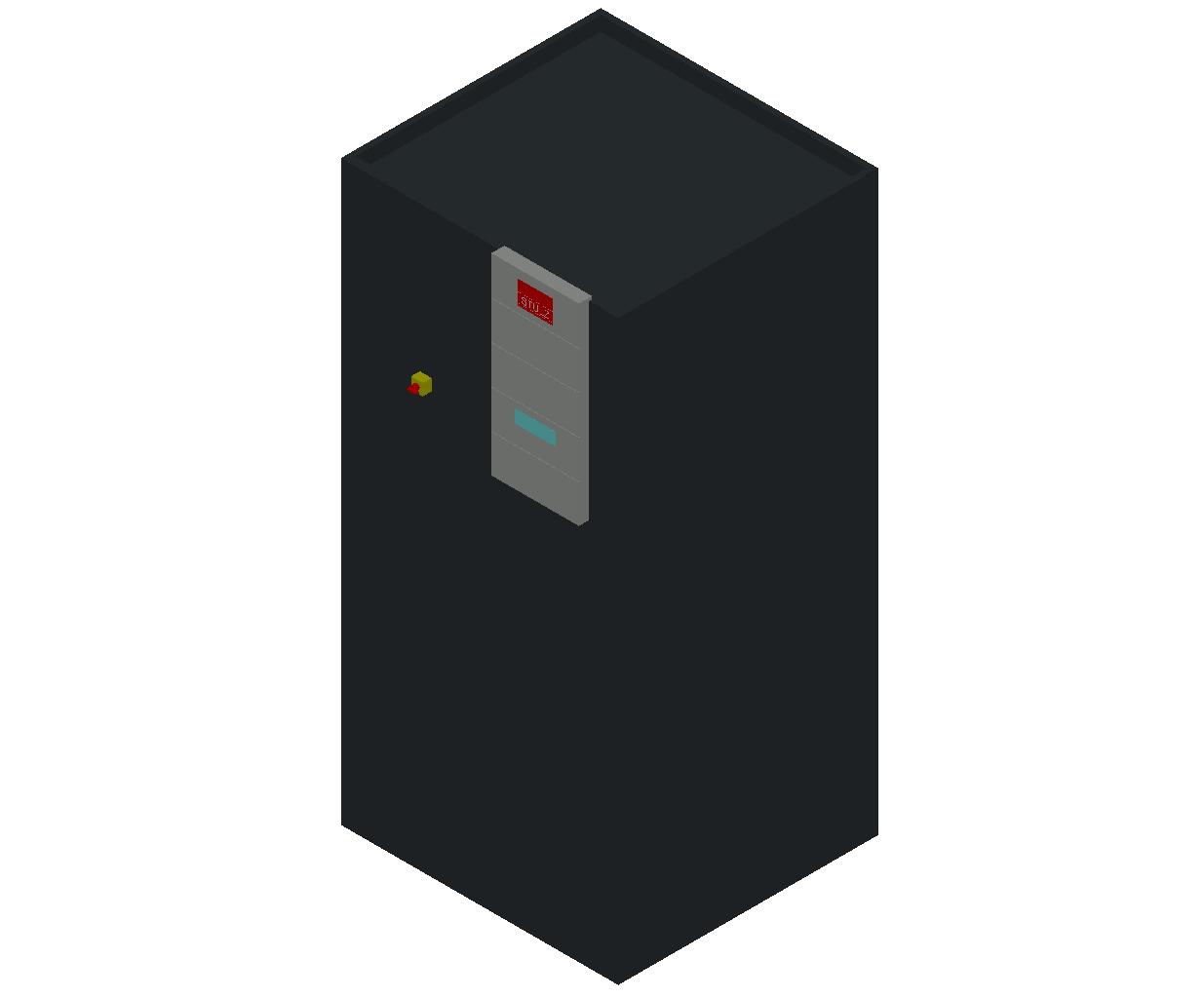 HC_Air Conditioner_Indoor Unit_MEPcontent_STULZ_CyberAir 3PRO_ASD-ALD_Single Circuit GE_ASD_171_GE_INT-EN.dwg