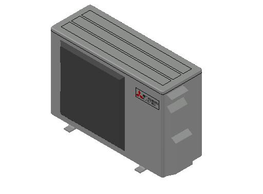 HC_Heat Pump_MEPcontent_Mitsubishi Electric Corporation_MUZ-HR50VF_INT-EN.dwg