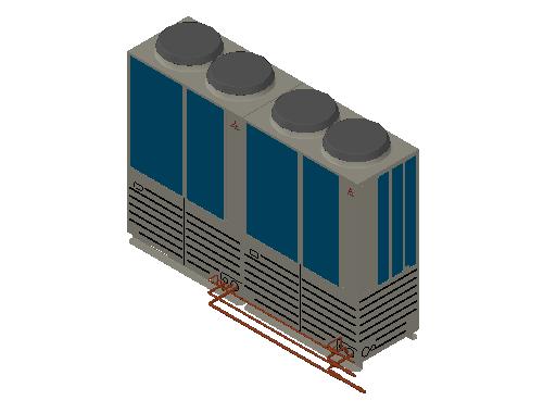 HC_Heat Pump_MEPcontent_Mitsubishi Heavy Industries_VRF_FDC1000KXZRE1_INT-EN.dwg