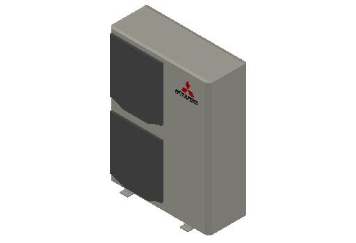 HC_Heat Pump_MEPcontent_Mitsubishi Heavy Industries_PAC_FDC140VSX-W_INT-EN.dwg