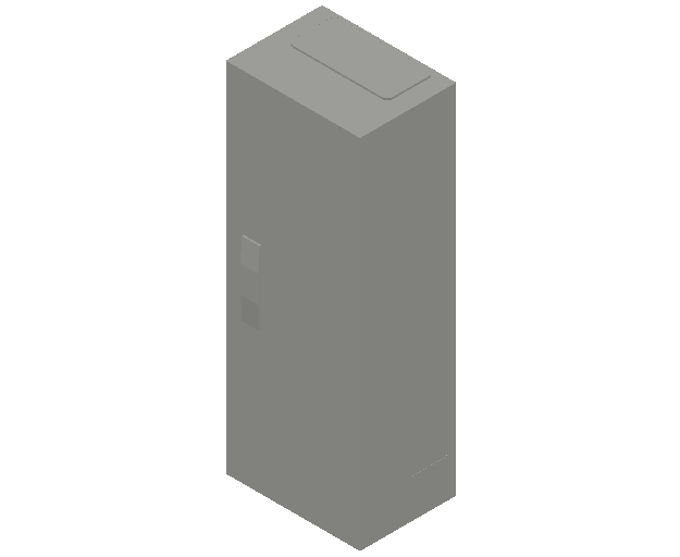 E_Distribution Panel_MEPcontent_ABB_ComfortLine B-Cabinets_5 Rows_B15 - IP44 60 modules 800x300x215_INT-EN.dwg