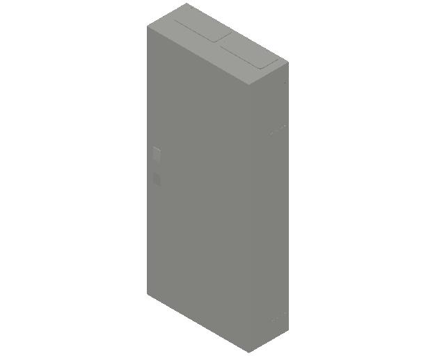 E_Distribution Panel_MEPcontent_ABB_ComfortLine B-Cabinets_8 Rows_B28 - IP44 192 modules 1250x550x215_INT-EN.dwg