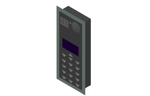 E_Communication Device_Intercom_MEPcontent_Recessed_Generic.dwg