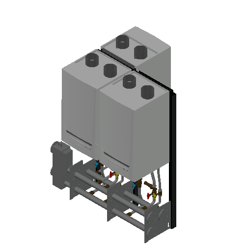 HC_Boiler_MEPcontent_De Dietrich_Innovens PRO MCA 160 Cascade_Double Sided 3_0-350 kW_INT-EN.dwg