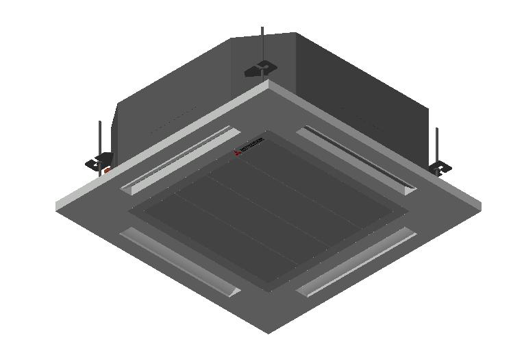 HC_Air Conditioner_Indoor Unit_MEPcontent_Mitsubishi Heavy Industries_VRF_FDT140KXZE1-W_INT-EN.dwg