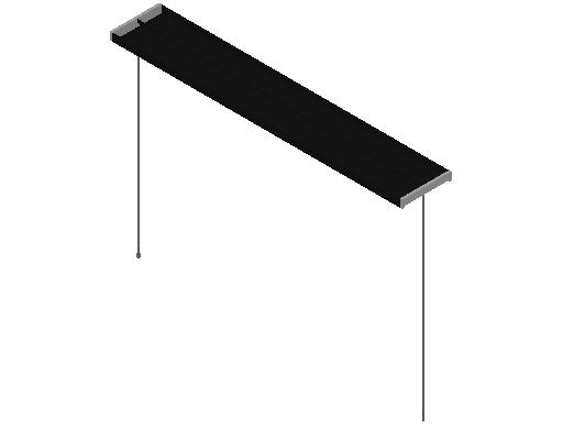 E_Lighting Fixture_F_MEPcontent_FLOS_Mini Beam S1_2x54W T5 Black.dwg