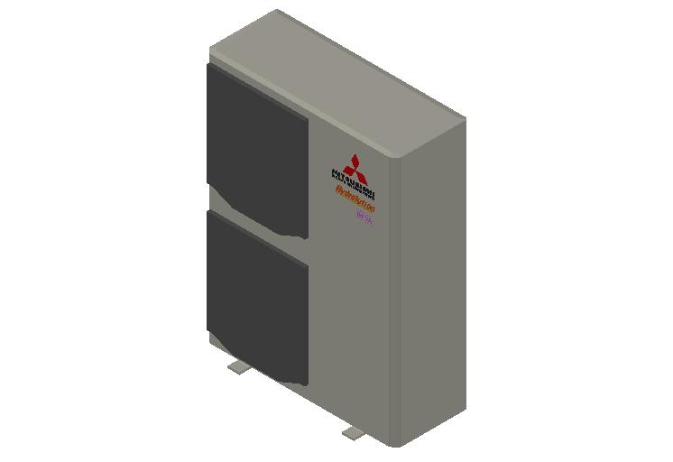 HC_Heat Pump_MEPcontent_Mitsubishi Heavy Industries_Hydrolution_FDCW140VNX-A_INT-EN.dwg