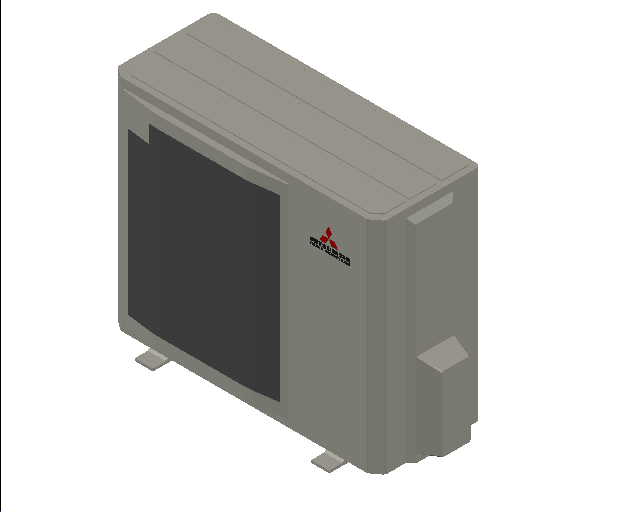 HC_Heat Pump_MEPcontent_Mitsubishi Heavy Industries_PAC_FDC100VNP-W_INT-EN.dwg