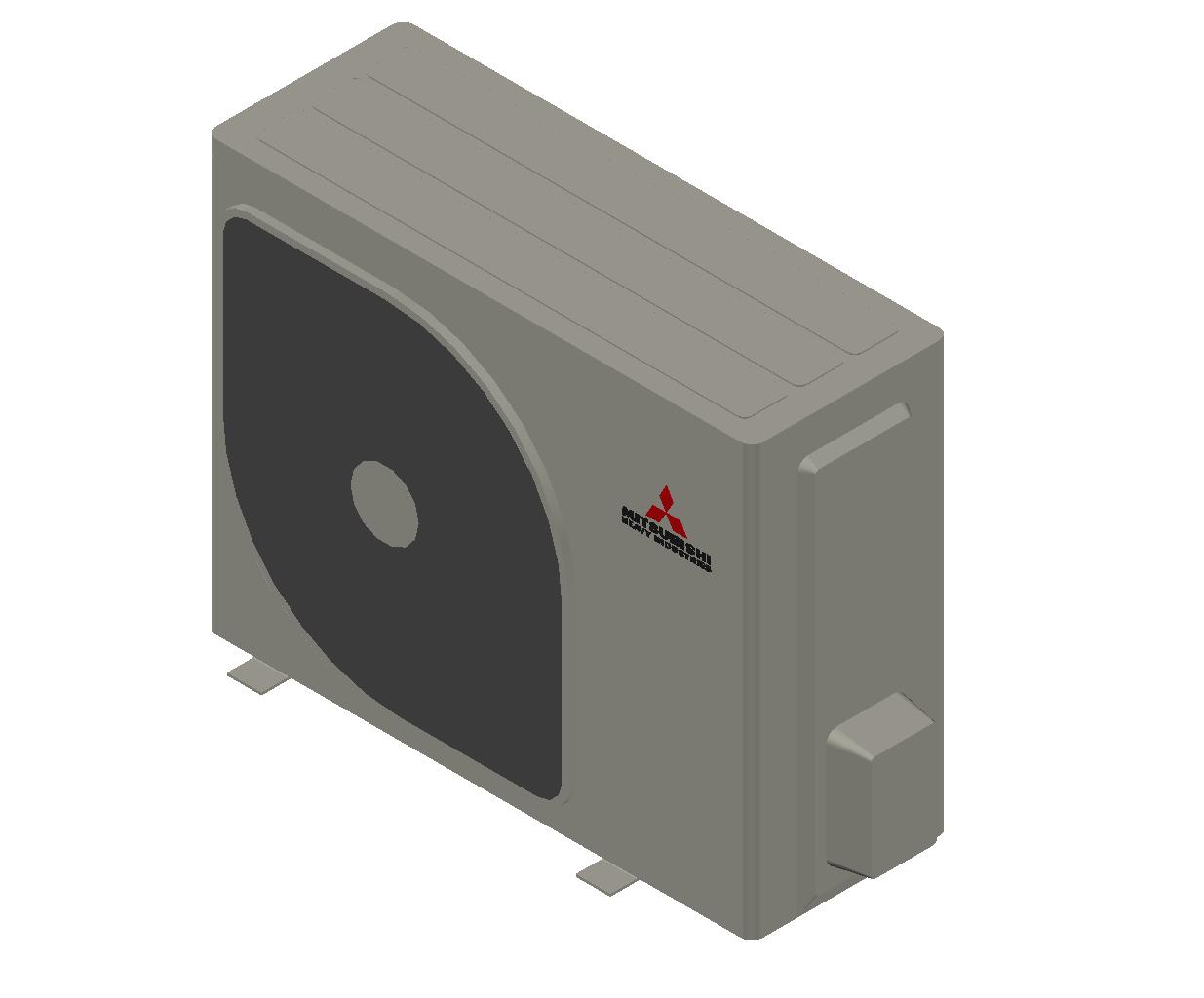 HC_Heat Pump_MEPcontent_Mitsubishi Heavy Industries_PAC-RAC_SRC25ZSX-W_INT-EN.dwg