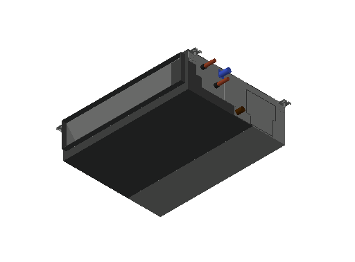 HC_Air Conditioner_Indoor Unit_MEPcontent_Mitsubishi Electric Corporation_PEFY-W40VMA-A_INT-EN.dwg