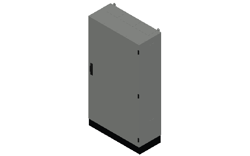 E_Distribution Panel_MEPcontent_ABB_TwinLine N 55_Earthed_1400x800x350_INT-EN.dwg