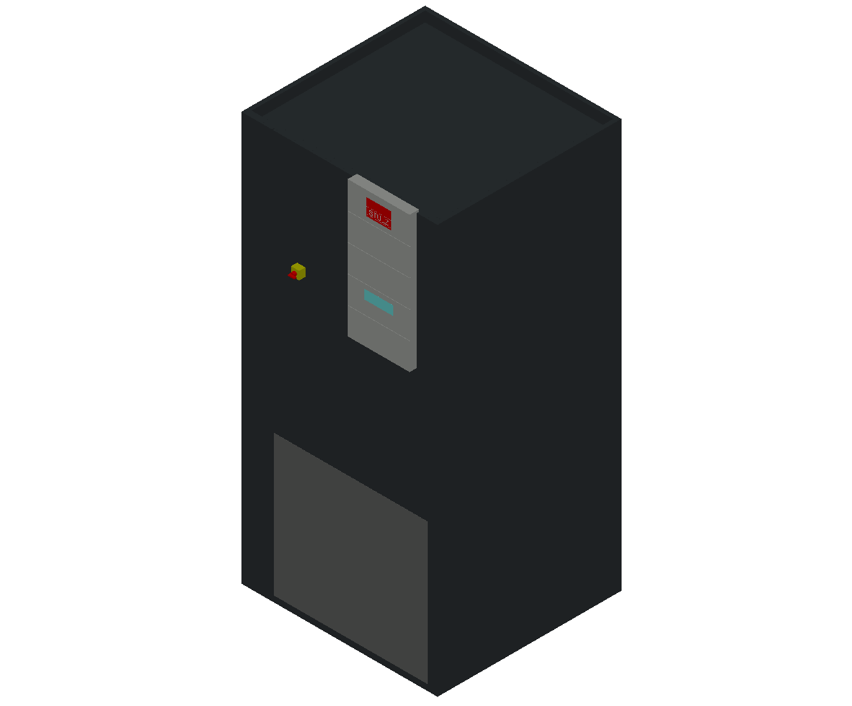 HC_Air Conditioner_Indoor Unit_MEPcontent_STULZ_CyberAir 3PRO_ASU_Single Circuit AS_ASU_341_AS_INT-EN.dwg
