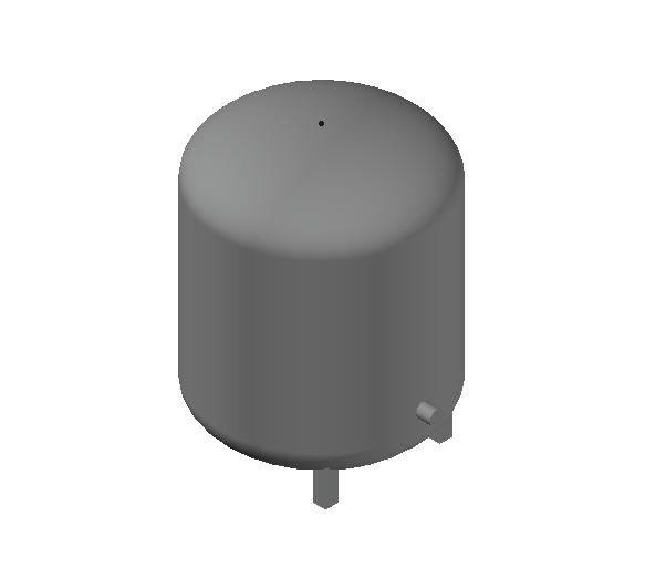 HC_Expansion Vessel_MEPcontent_Caleffi_556_100 Liters_DN20 DN25.dwg