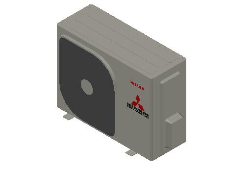 HC_Heat Pump_MEPcontent_Mitsubishi Heavy Industries_RAC_SRC50ZS-W_INT-EN.dwg