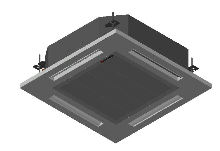 HC_Air Conditioner_Indoor Unit_MEPcontent_Mitsubishi Heavy Industries_VRF_FDT45KXZE1-W_INT-EN.dwg