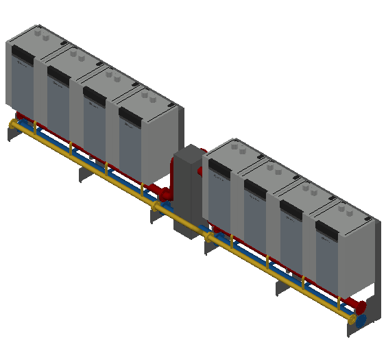 HC_Boiler_MEPcontent_RENDAMAX_R0140 CASCADE_IN LINE_4+4 BOILERS_140kW_DN 100_INT-EN.dwg