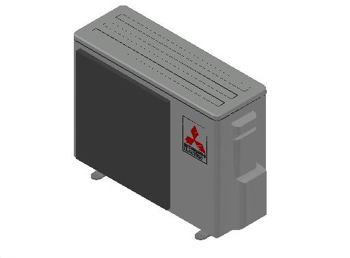 HC_Heat Pump_MEPcontent_Mitsubishi Electric Corporation_MUZ-DM25VA_INT-EN.dwg