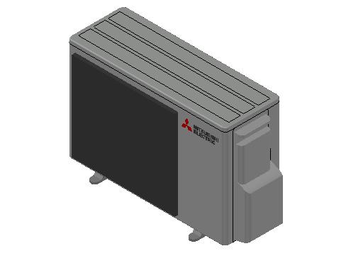 HC_Heat Pump_MEPcontent_Mitsubishi Electric Corporation_MXZ-2F33VF_INT-EN.dwg