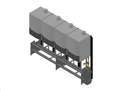HC_Boiler_MEPcontent_Remeha_Quinta Ace 45-65-90-115 Cascade Freestanding 4_DN65 0-350kW - QAce45_INT-EN.dwg