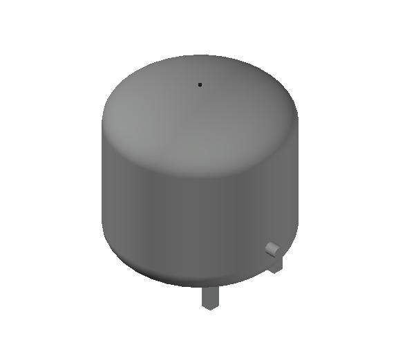 HC_Expansion Vessel_MEPcontent_Caleffi_556_80 Liters_DN20 DN25.dwg