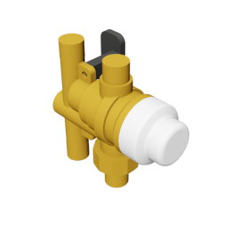 Caleffi SinkMixer™ Scald Protection Point-of-Use Thermostatic Mixing Valve (4-way)