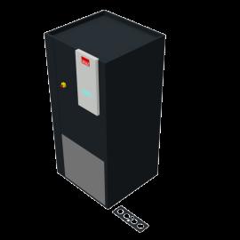 STULZ CyberAir 3PRO DX: Upflow Hybrid GES 1-circuit