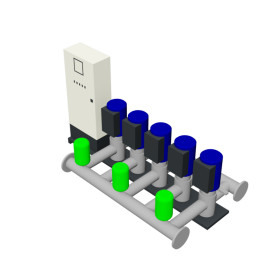 DP-Pumps HU5 Utility Line DPVF40-85 SVP