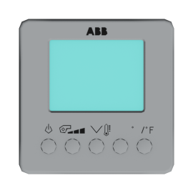 ABB Room Temperature Controller FanCoil with Display