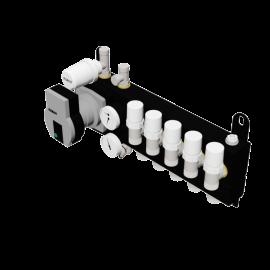Robot Vloerverwarming B.V. Compact Pro steel manifold