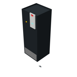 STULZ CyberAir 3PRO DX: Raised Floor A 1-circuit