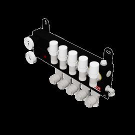 Robot Vloerverwarming B.V. LT steel manifold