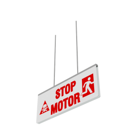 ExcelAir Stop Motor Sign