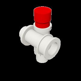 Valsir Pexal EASY Modular manifold with cap hot water