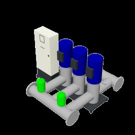 DP-Pumps HU3 Utility Line DPVF125 F
