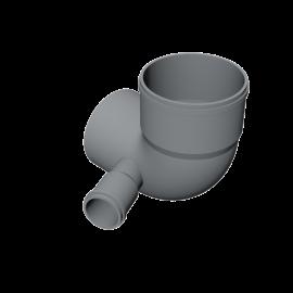 Valsir PP3 PP Grey bend with left inlet