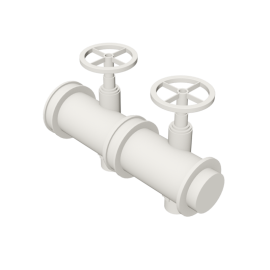 Valsir Pexal EASY 2-way modular manifold for domestic cold water distribution