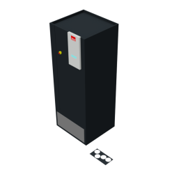 STULZ CyberAir 3PRO CW: Raised Floor Dual Fluid